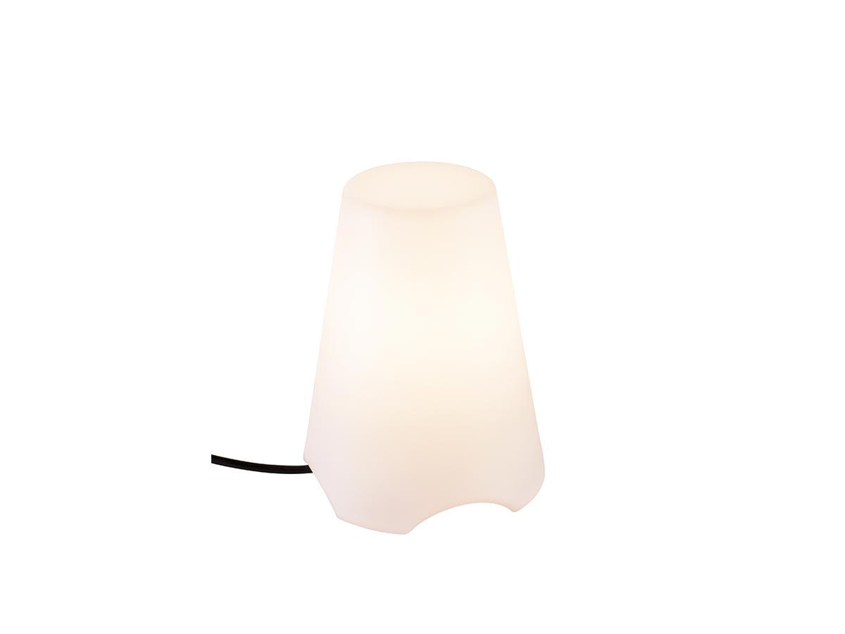 Luminaire mobile extérieur blanc KIROCONE