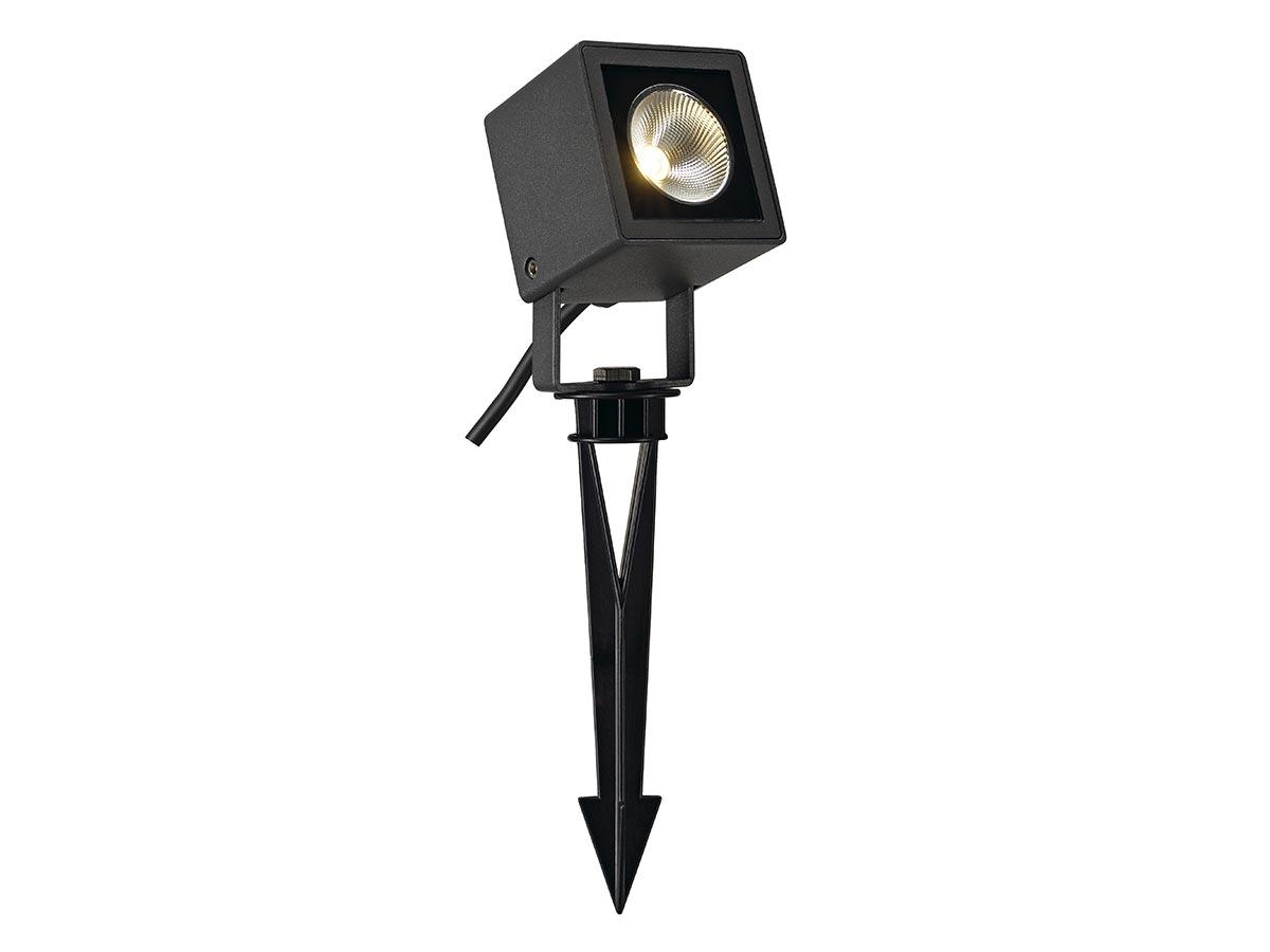 Projecteur extérieur carré anthracite NAUTILUS 10 avec LED, 8,5W, 3000K, IP65