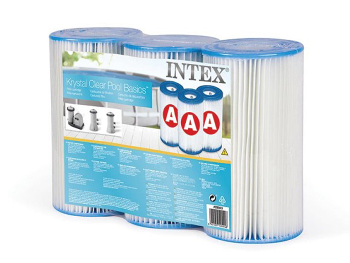 3 cartouches de filtration A - Intex
