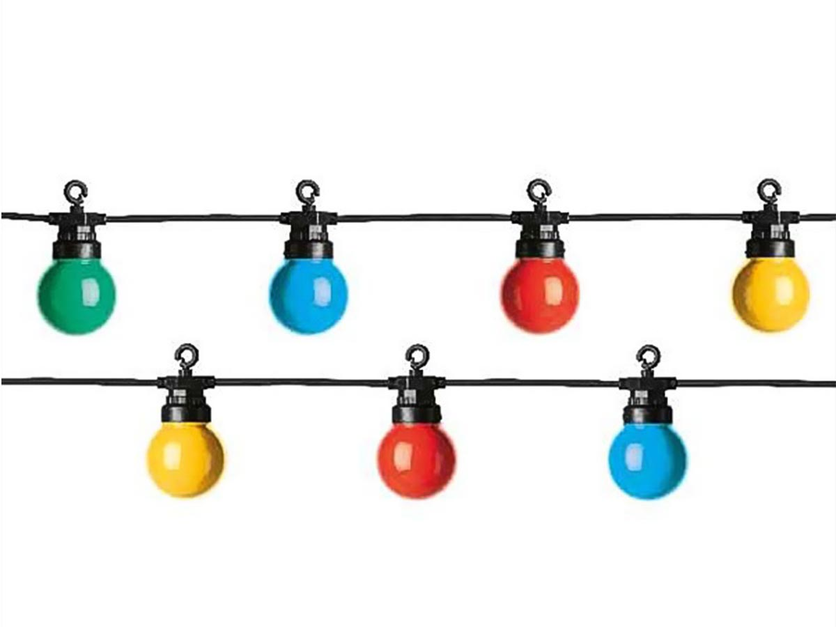 Guirlande lumineuse 20 Led 8 fonctions - muticolore