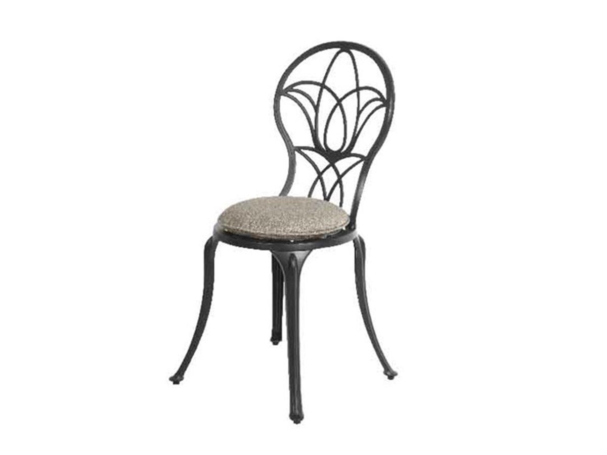 Chaise de jardin bistro Saint-Tropez - anthracite mat