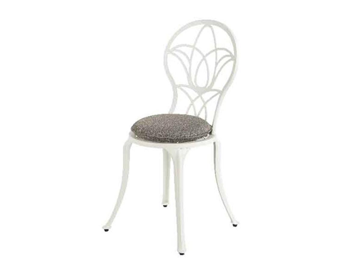 Chaise de jardin bistro Saint-Tropez - blanc cassé