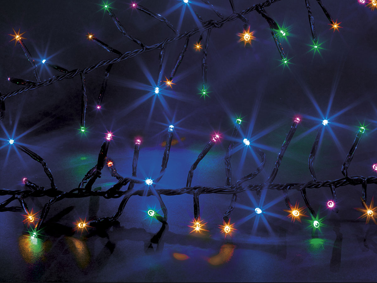 Guirlande lumineuse extérieur Boa 1152 LED Multicolore - Jardideco