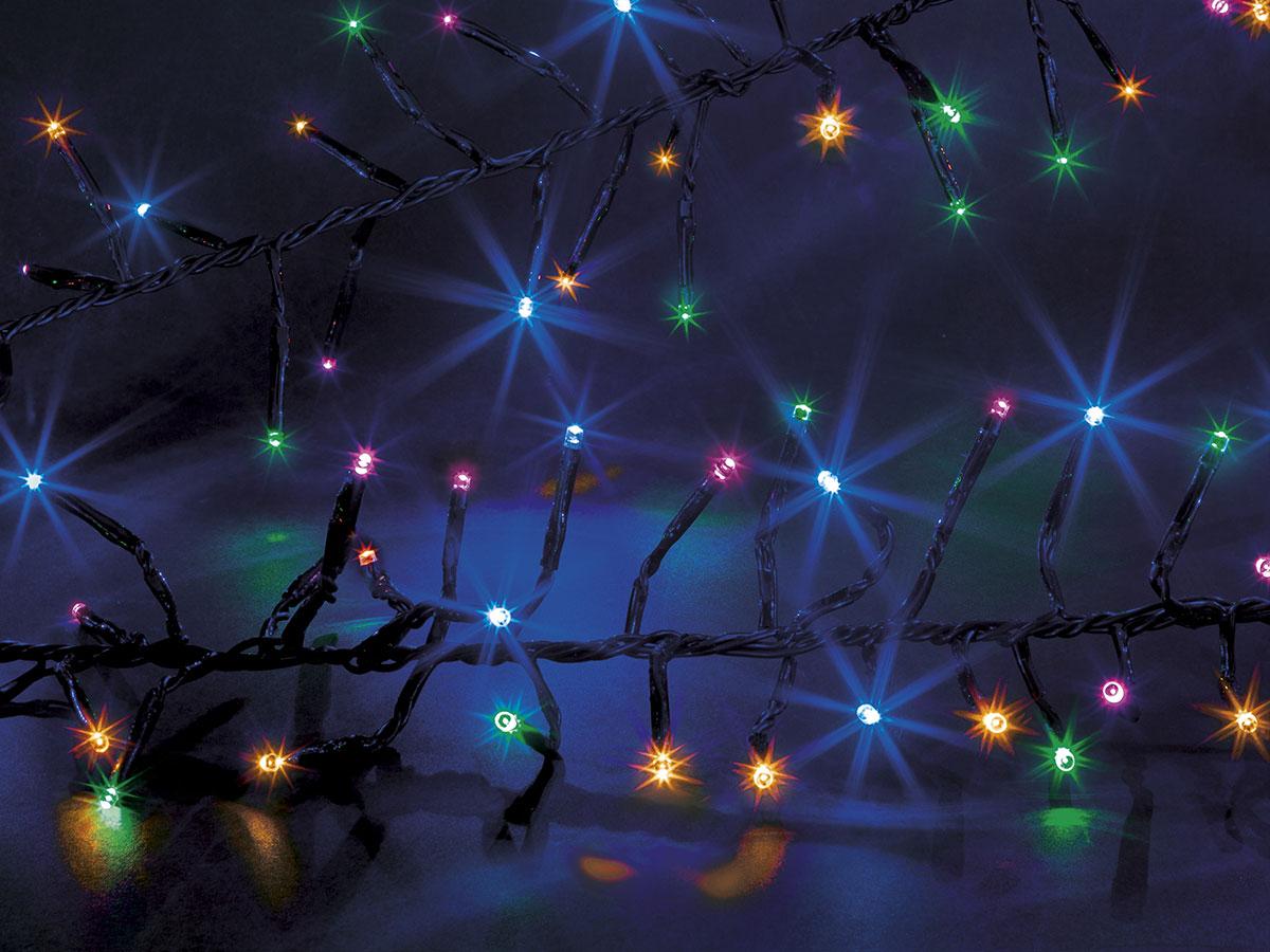 Guirlande lumineuse extérieur Boa 1440 LED Multicolore - Jardideco