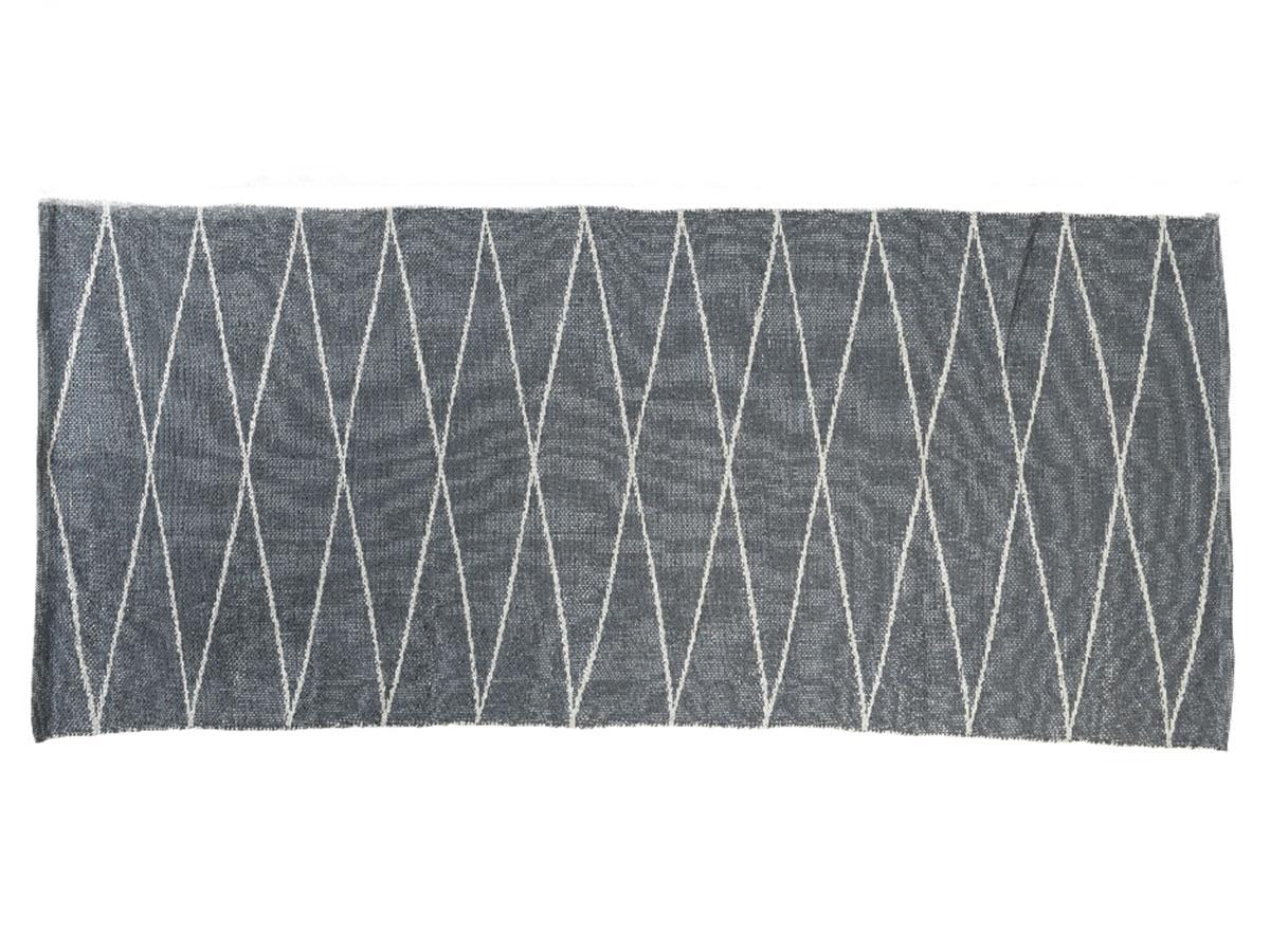 Tapis d'extérieur rectangulaire 180 x 120 cm motifs losanges - Jardideco