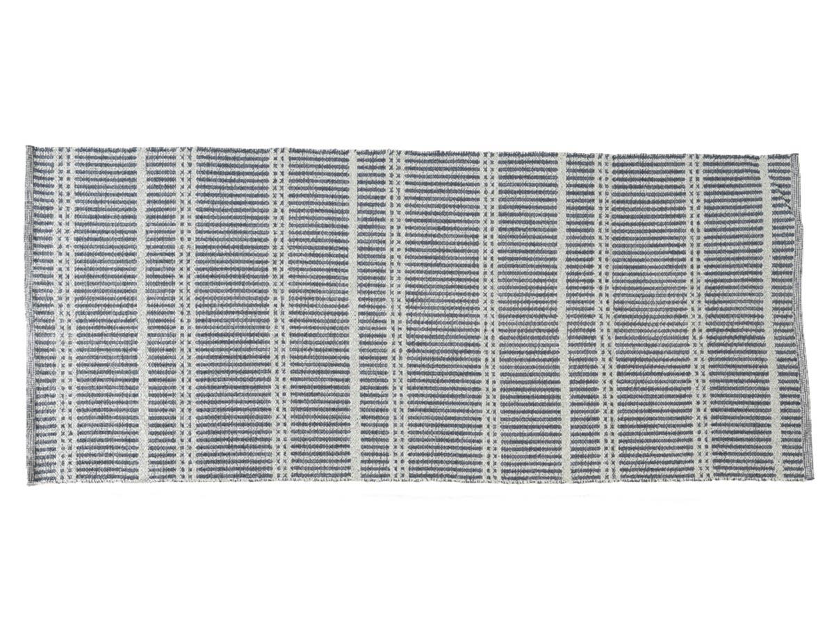 Tapis d'extérieur rectangulaire 180 x 120 cm motifs rayures fines - Jardideco