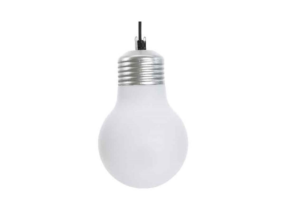 Suspension extérieure ampoule ronde