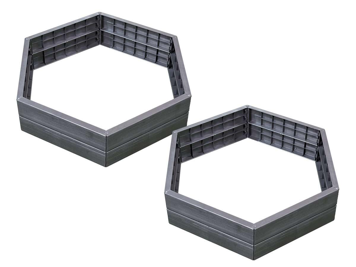 Kit de 2 carrés potager Ergo