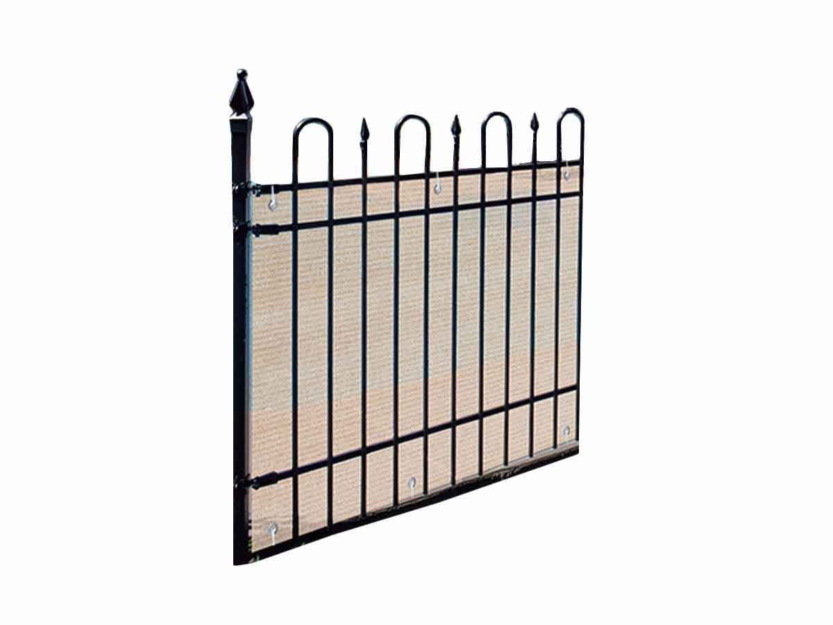 Brise vue pour balcon 500 x H.90 cm Sable