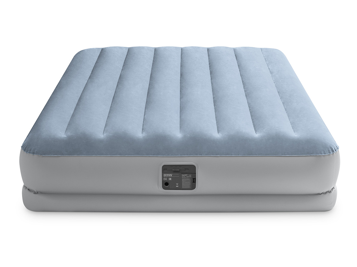 Matelas gonflable Raised Confort Fiber Tech 2 places - Intex