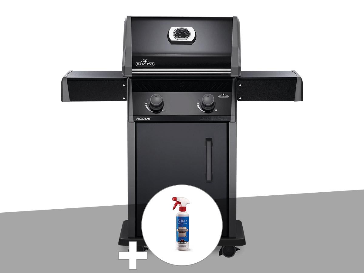 Barbecue à gaz Napoleon Rogue 325 + Nettoyant grill 3 en 1