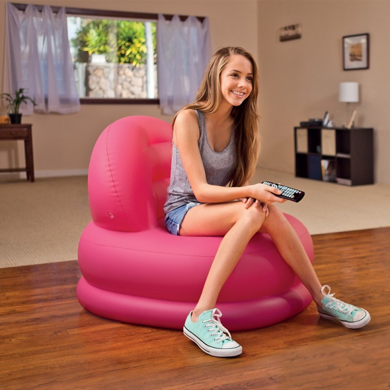 Fauteuil gonflable Gelato Rose - Intex