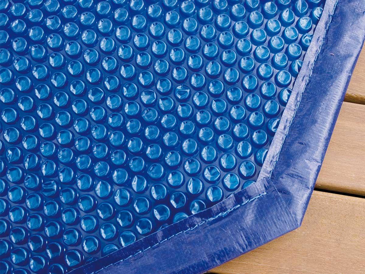 Bâche à bulles pour piscine bois Linéa Ubbink 5,00 x 8,00 m