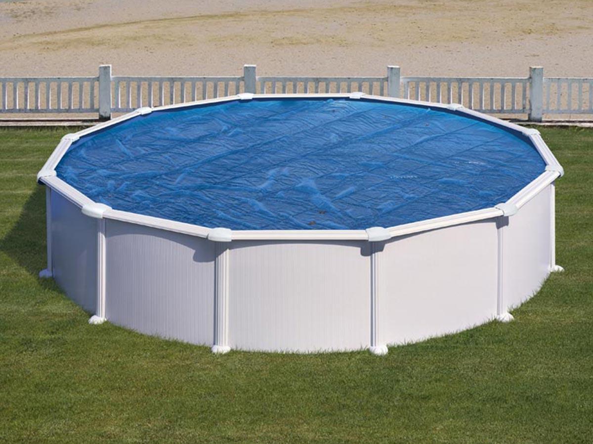Bâche à bulles pour piscine acier ronde Ø 3,70 m - Gré