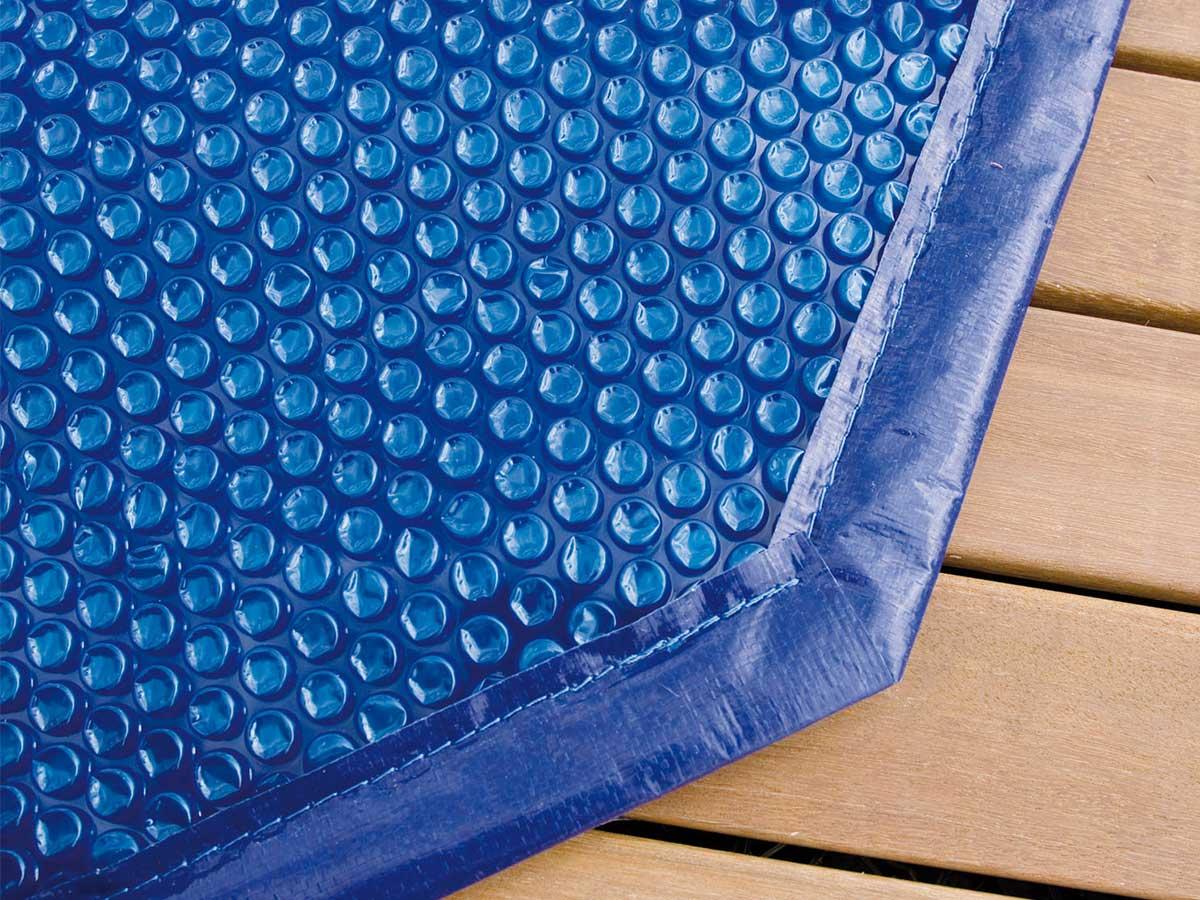Bâche à bulles pour piscine bois SunWater 5,55 x 3,00 x 1,40 m