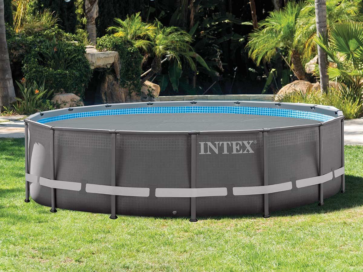 Bâche à bulles renforcée pour piscine Ø 4,27 m - Intex