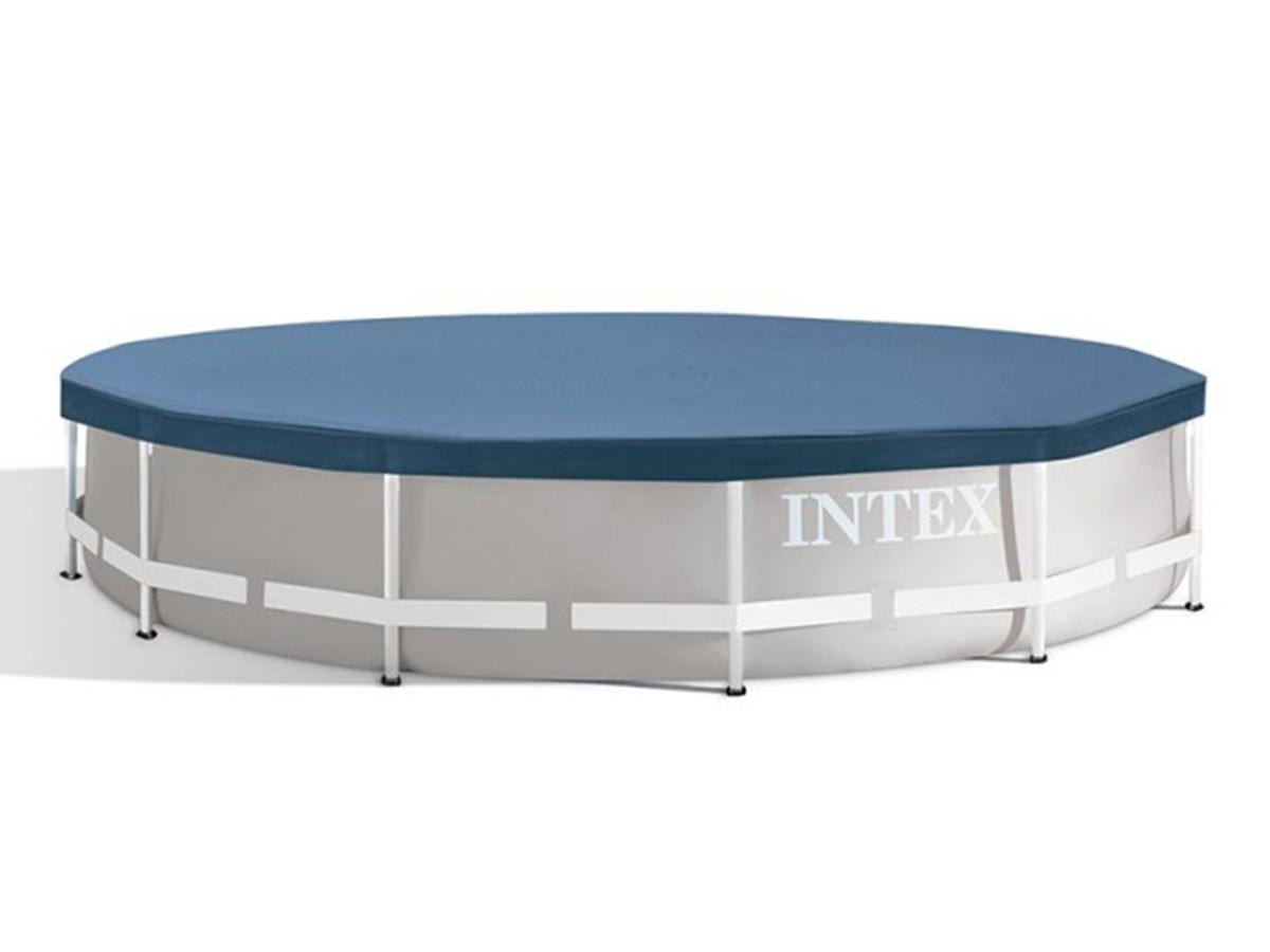Bâche de protection piscine tubulaire ronde Ø 3,05 m - Intex
