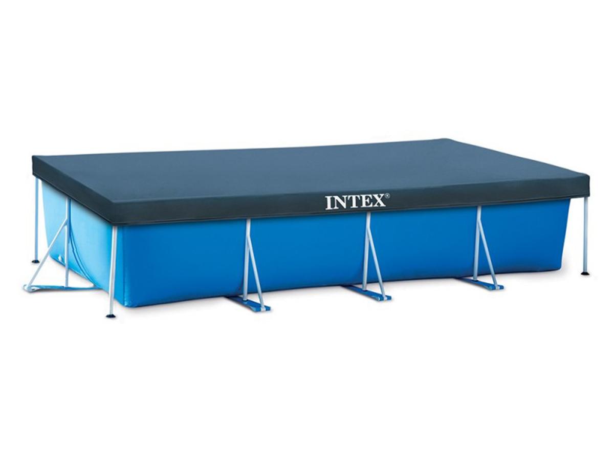 Bâche de protection pour piscine tubulaire rectangulaire 4,50 x 2,20 m - Intex