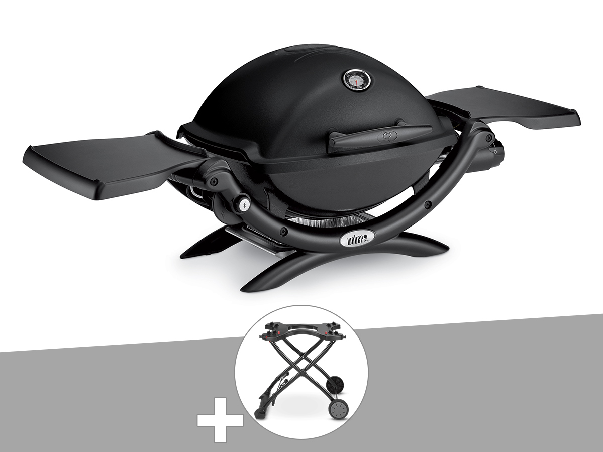 Barbecue Weber q 1200 + chariot