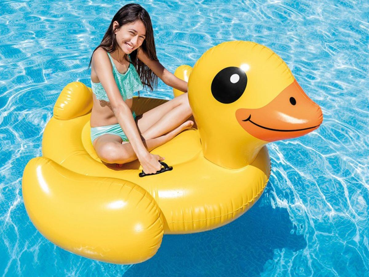 Canard gonflable - Intex