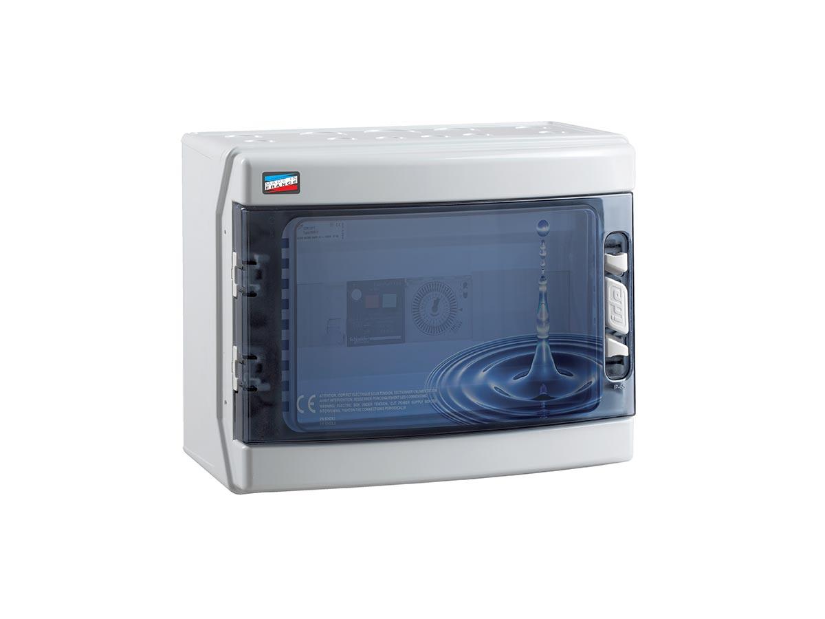Coffret électrique piscine Klaar Eco 50 Va pour filtration et projecteur - Corelec