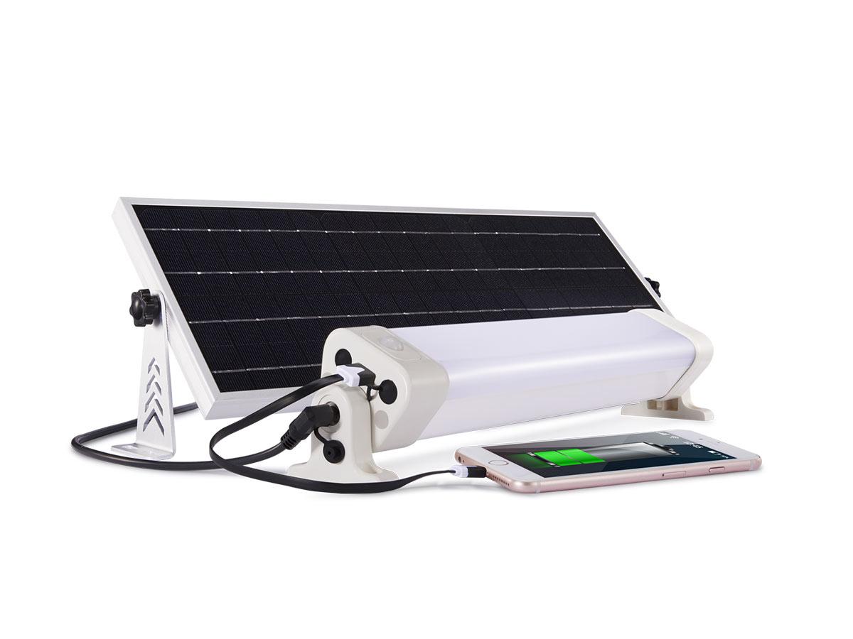 jardideco  Néon LED panneau solaire 1300 lumens 90 leds Autonomie 8h pour... par LeGuide.com Publicité