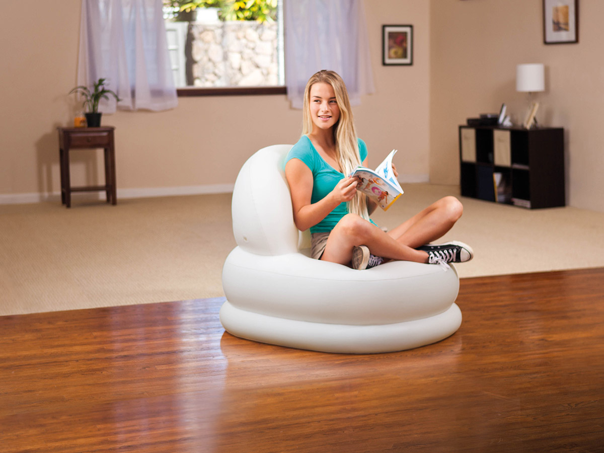 Fauteuil gonflable Gelato Blanc - Intex