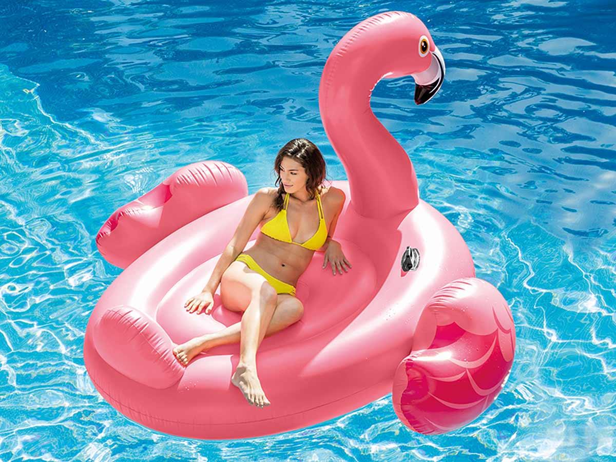 Flamant Rose gonflable XL - Intex