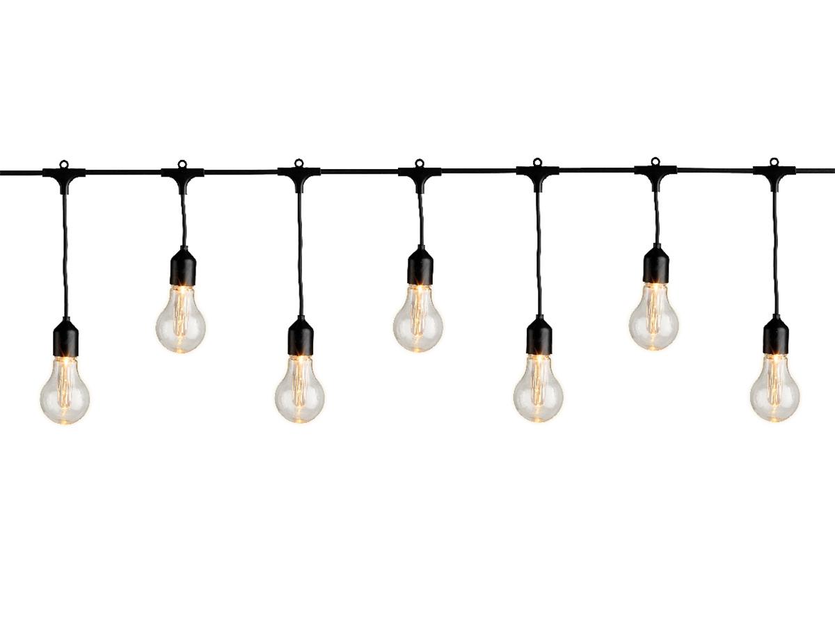 Guirlande lumineuse grandes ampoules 20 LEDs - Jardideco