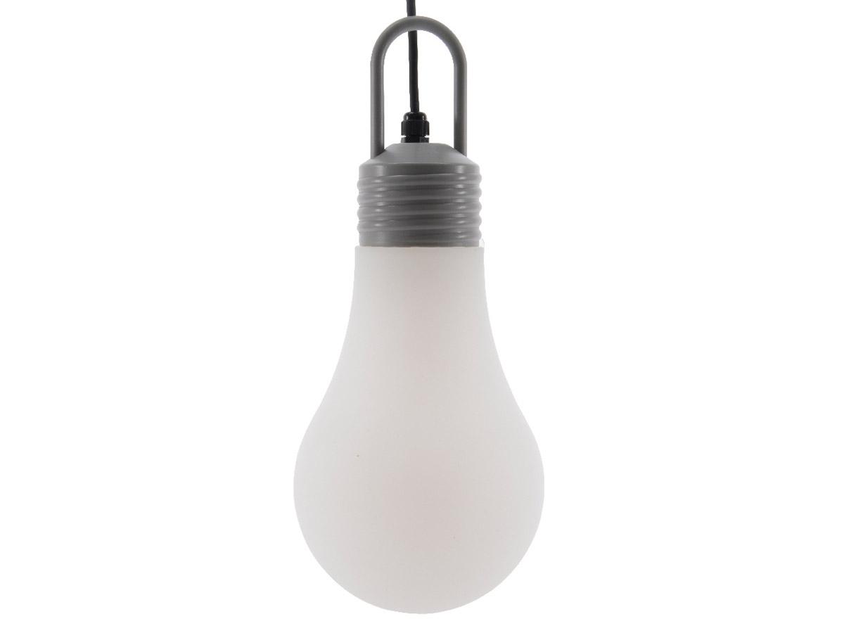 Suspension extérieure ampoule goutte