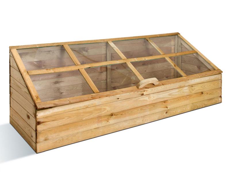 Serre quadruple en bois pour 199€