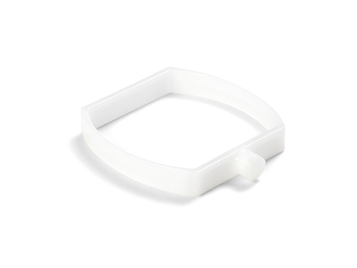Lot de 5 clips plastiques pour piscine tubulaire rectangulaire