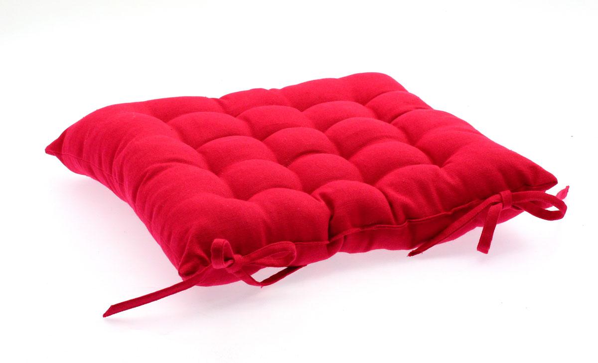 Coussin pour chaise de jardin Rouge 38 x 38 cm