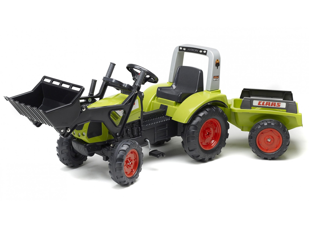 Tractopelle Enfant claas arion 430 + remorque