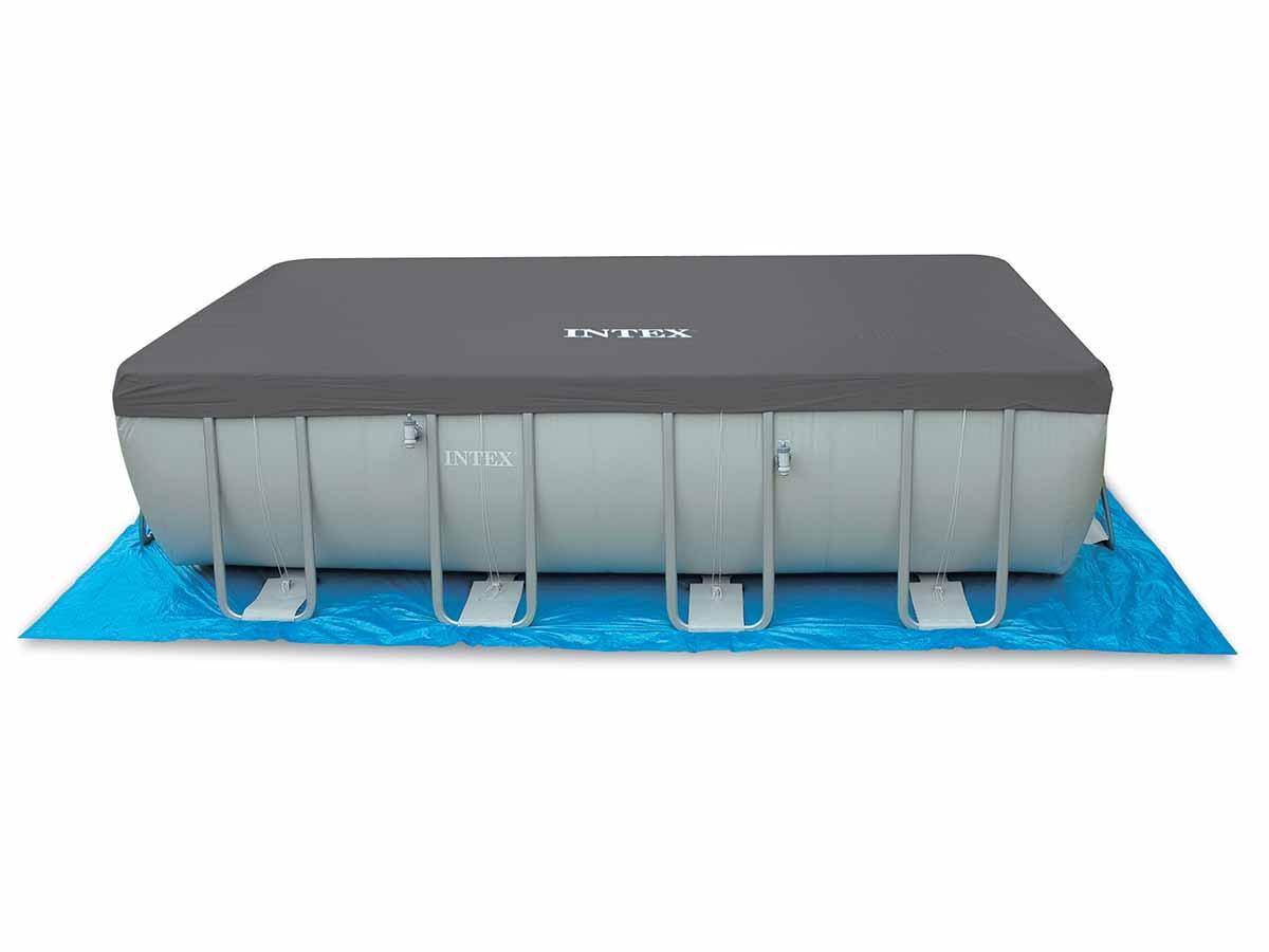 Bâche de protection pour piscine tubulaire rectangulaire 9,75 x 4,88 m - Intex