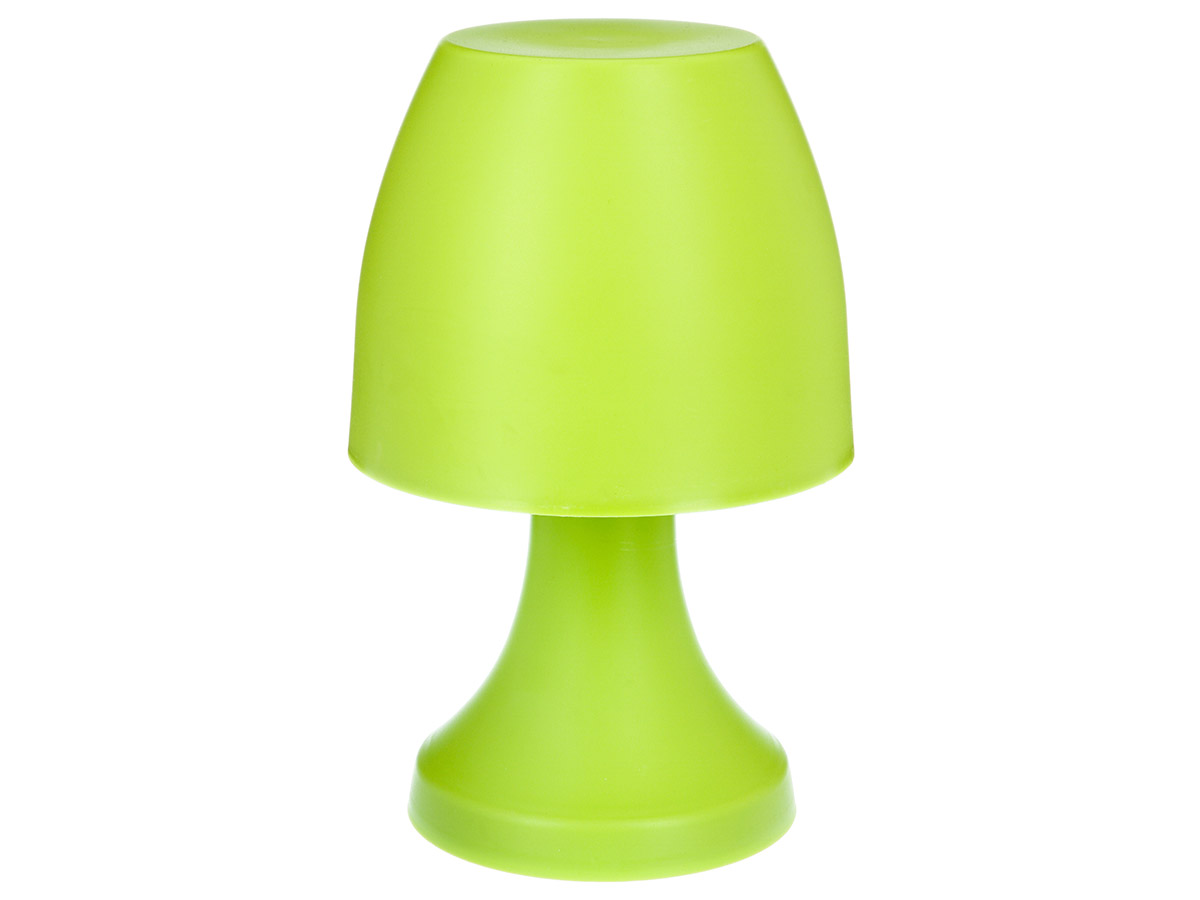 Lampe champignon à poser 19,5 cm - Vert