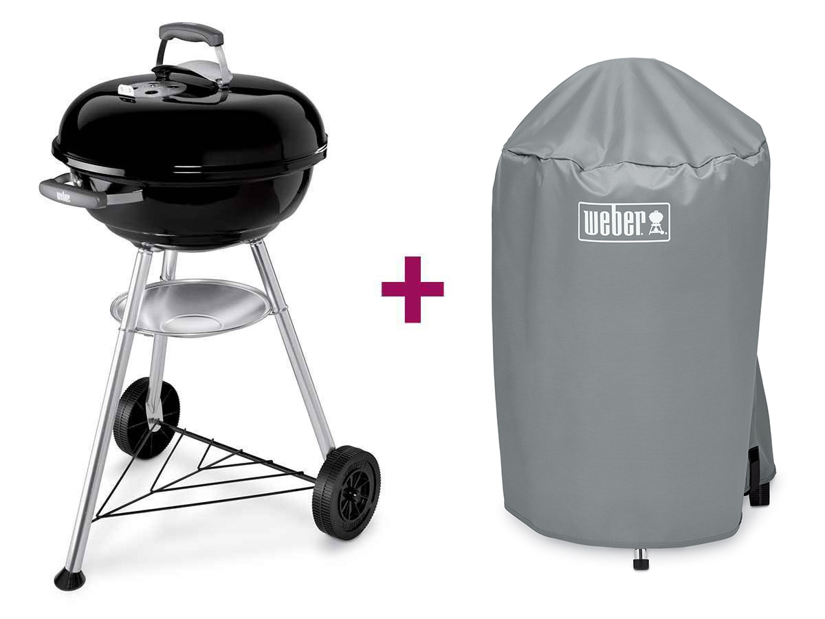 Barbecue Weber compact kettle 47 cm + housse
