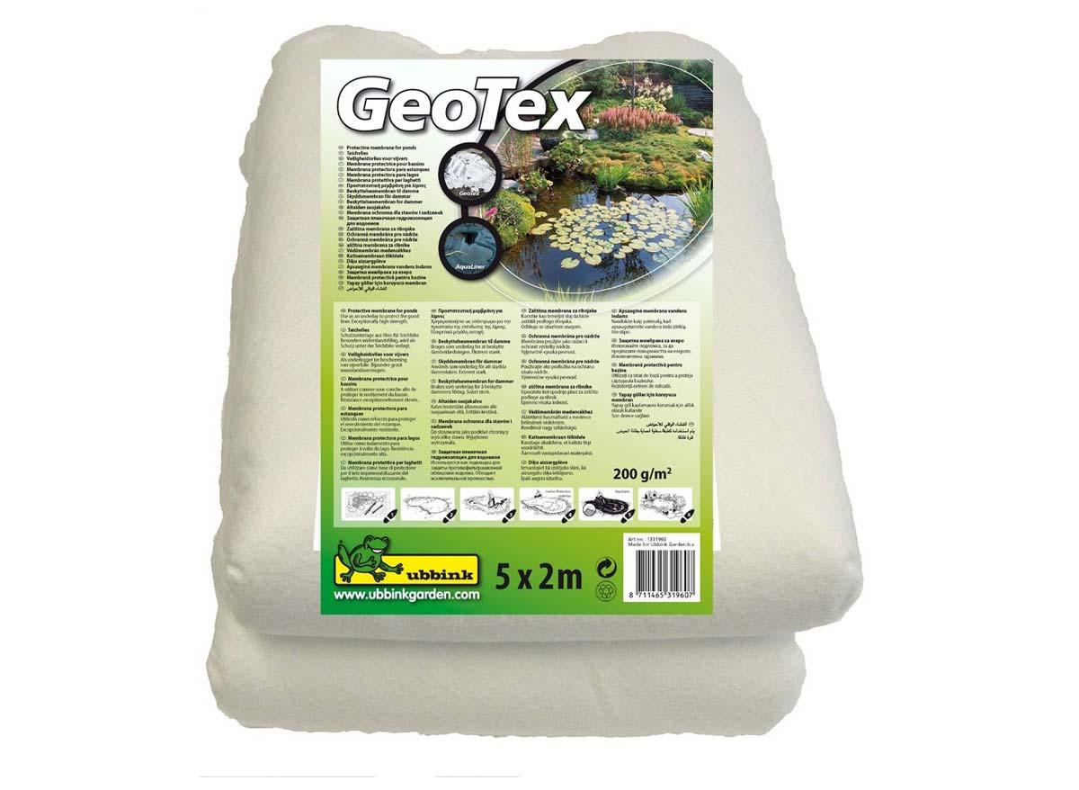 Feutre géotextile de sécurité blanc prepacked 5 x 2 m- 200g/m²