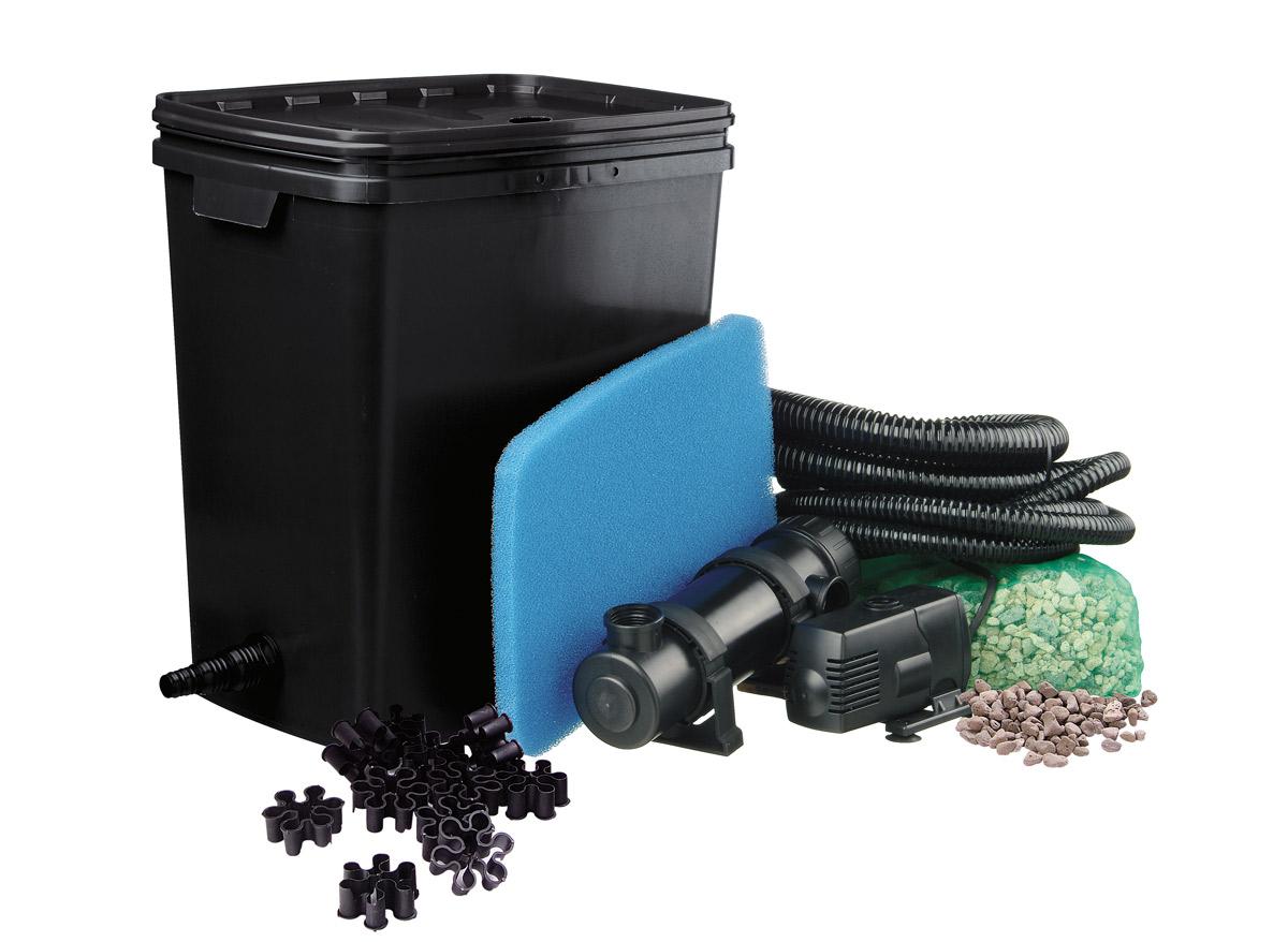 Kit de filtration pour bassin FiltraPure 7000 PlusSet - 11 W
