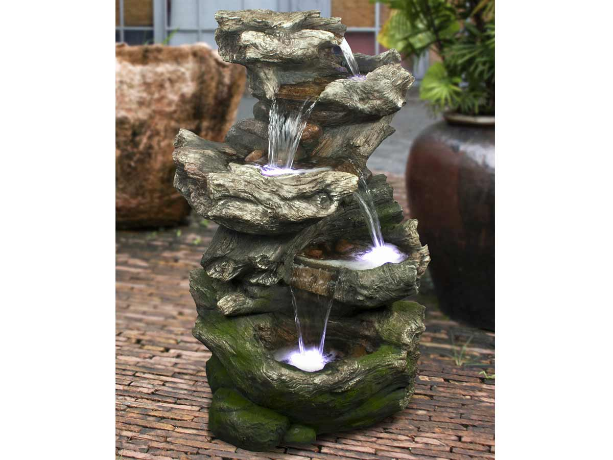 Eclairage Fontaine led