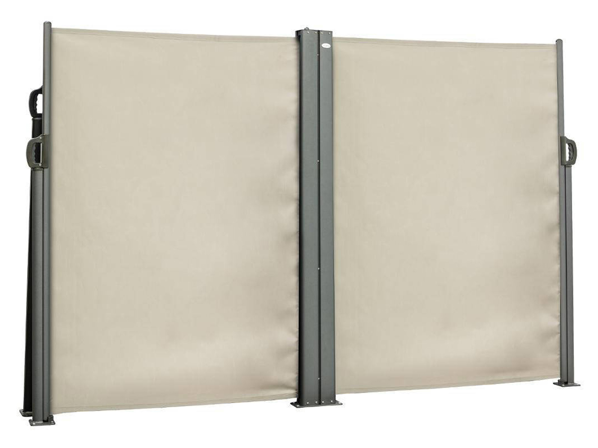 Paravent double Capao Taupe
