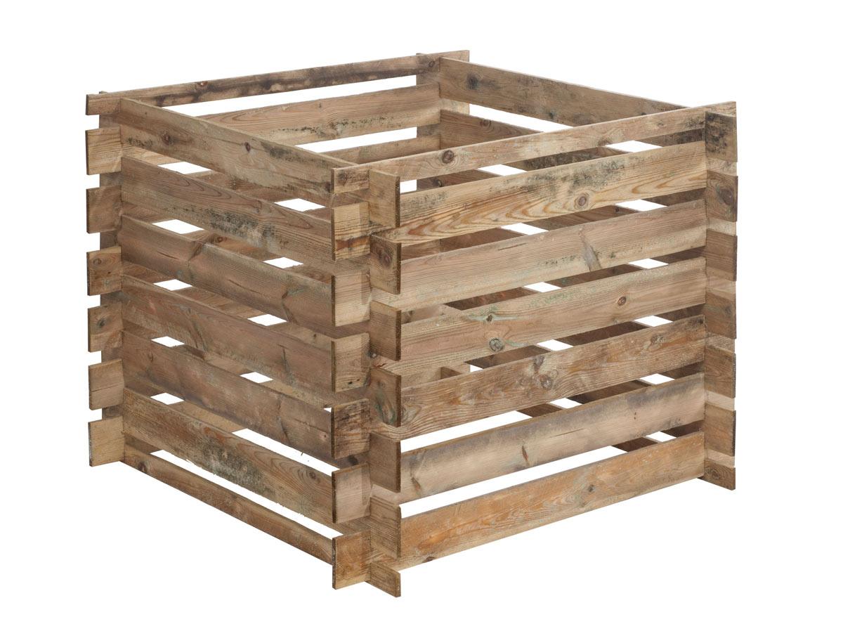 Composteur bois Mezzito 480 Litres