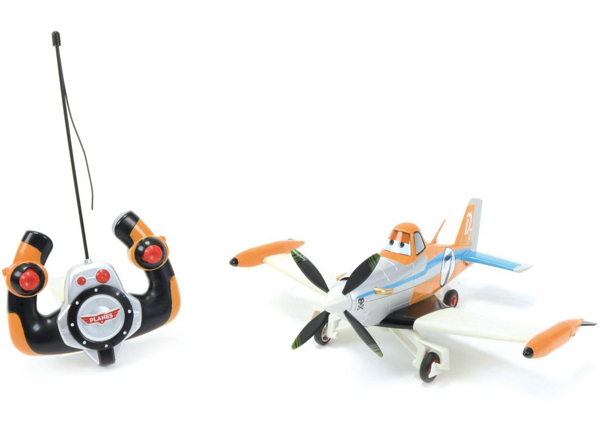 promotion Avion télécommandé enfant PLANES RC Driving Dusty 1/24 Majorette