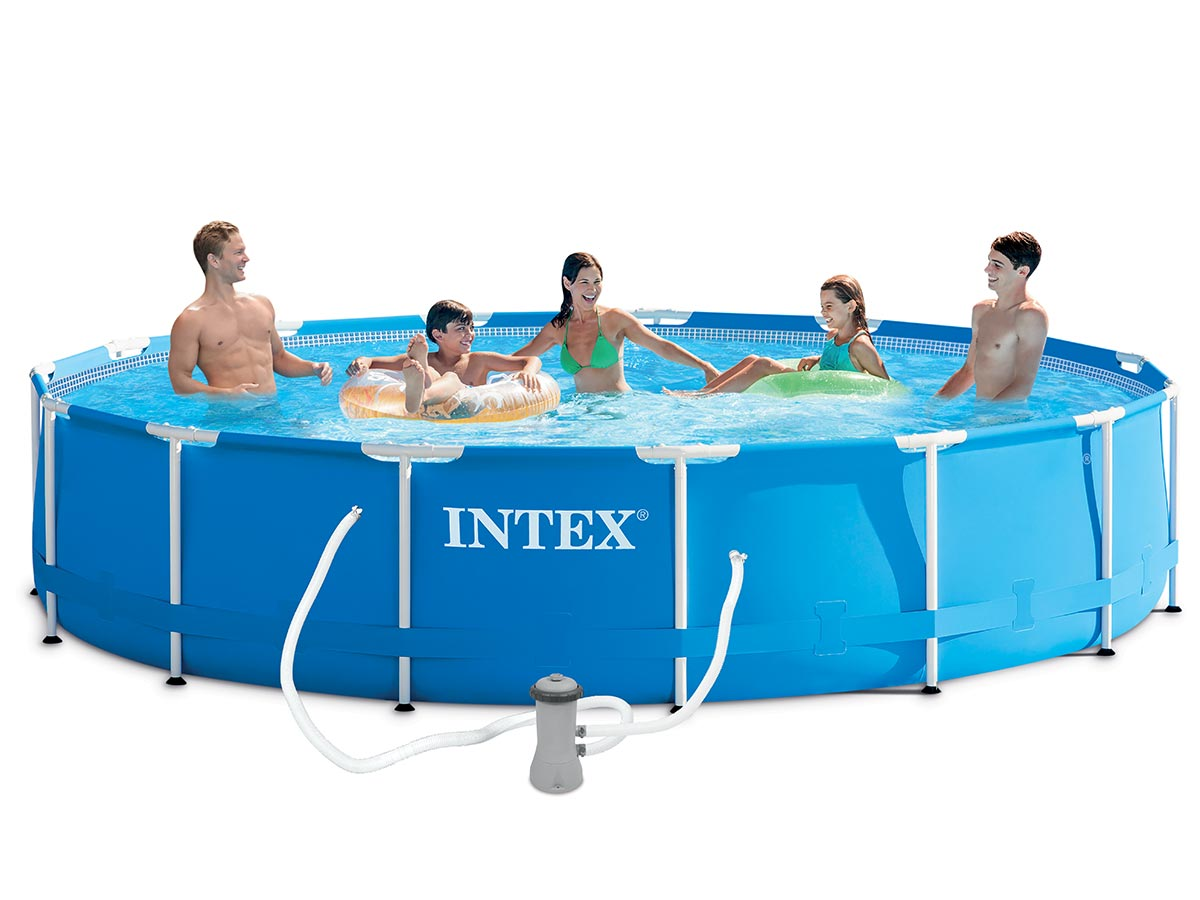 Piscine tubulaire intex ronde 457 x 084 m