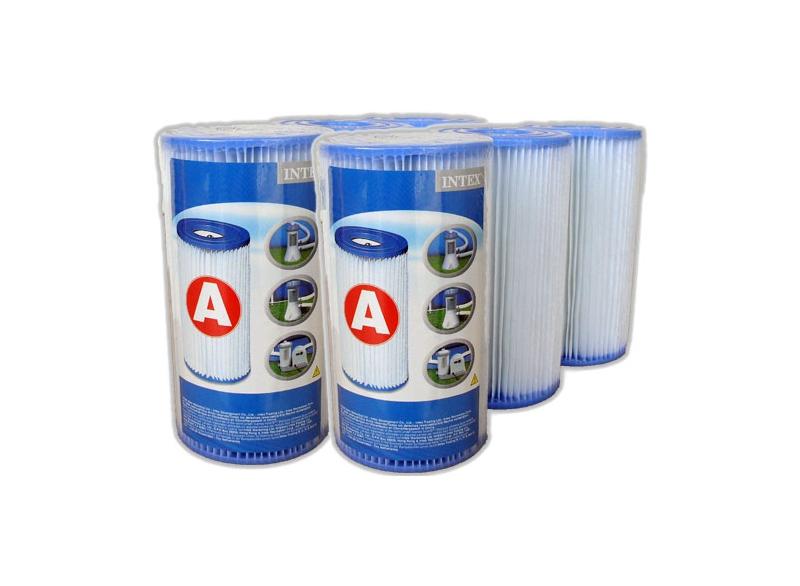 6 cartouches de filtration 'A'
