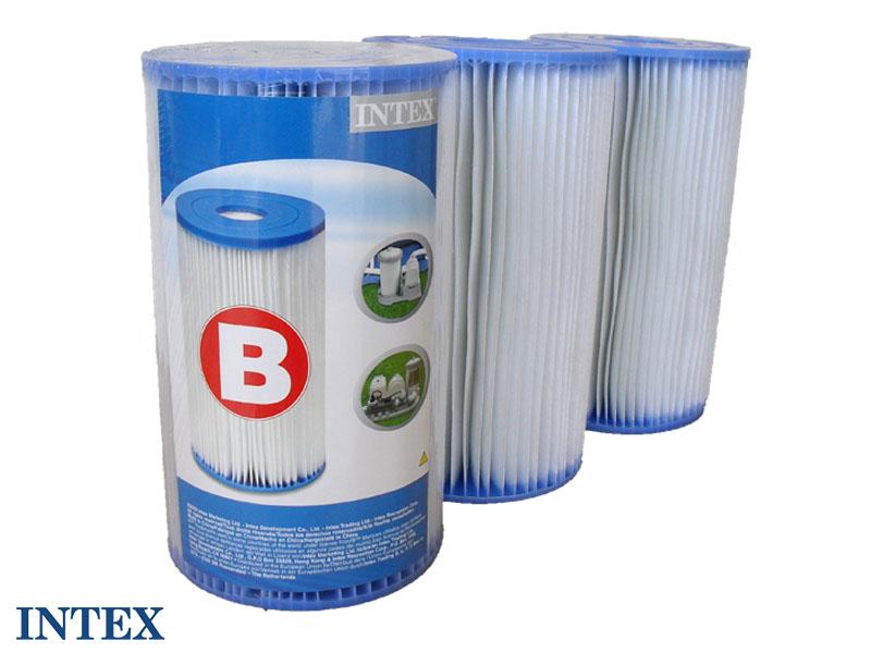 3 Cartouches de filtration 'b'