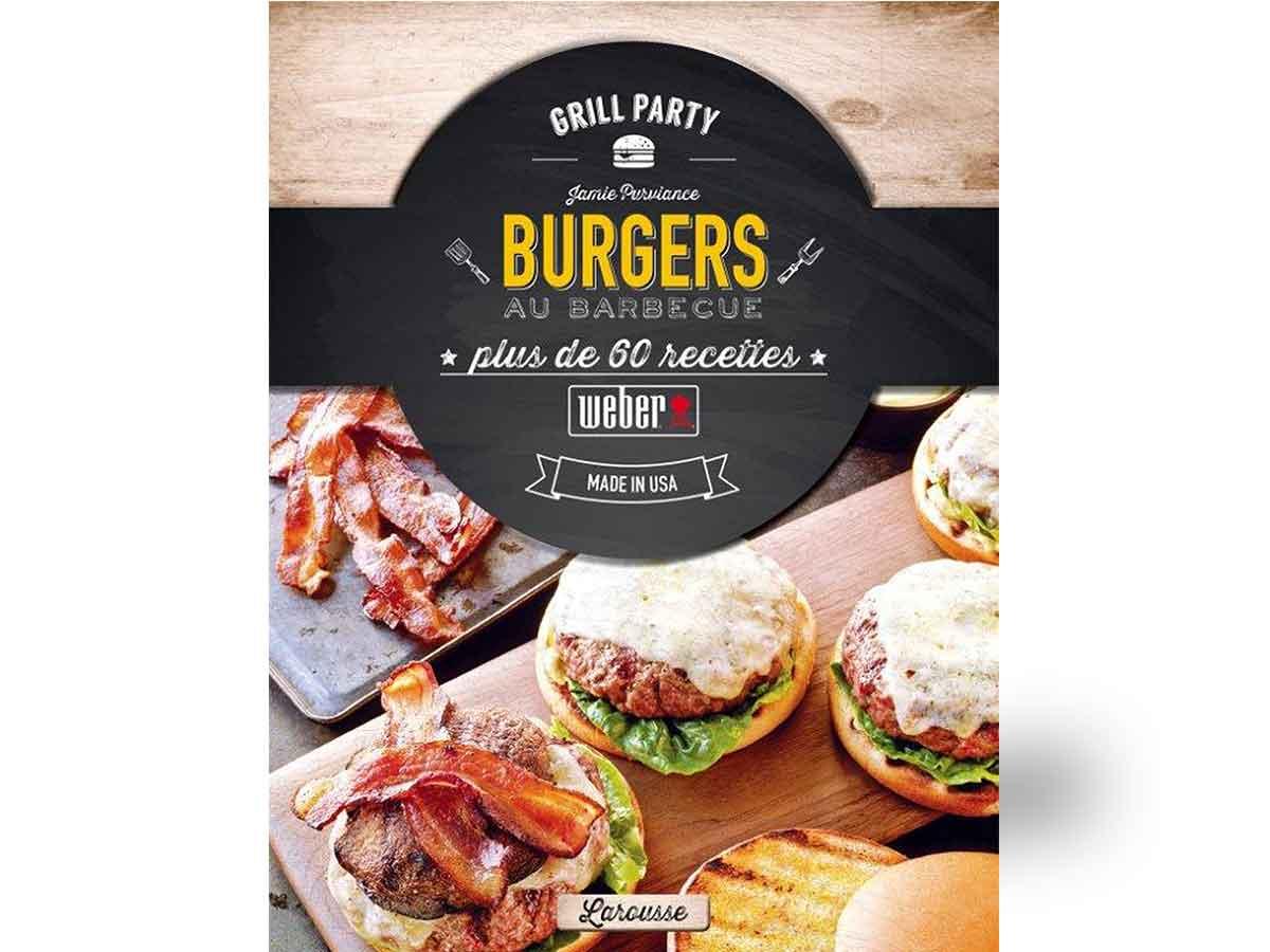 Livre de recettes 'burgers au barbecue'