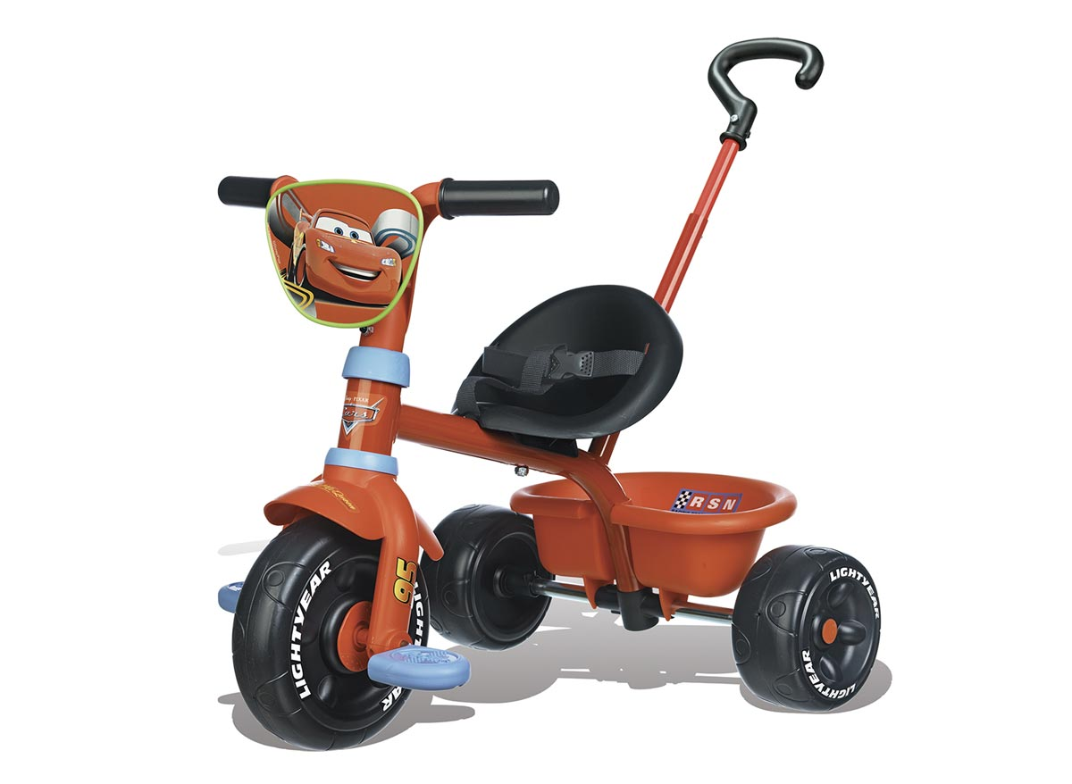Tricycle enfant Be Move Rouge Cars Smoby