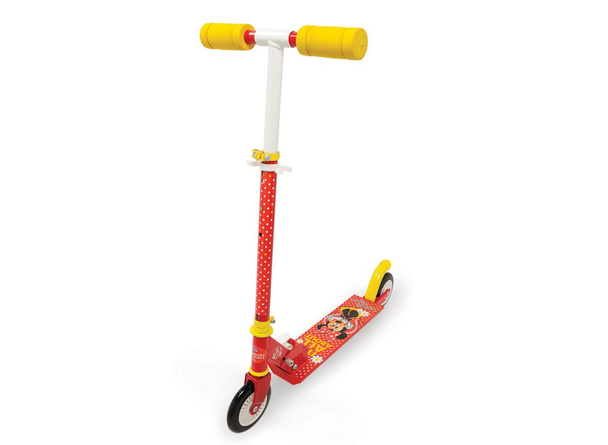 Trottinette enfant 2 roues pliable Minnie Smoby
