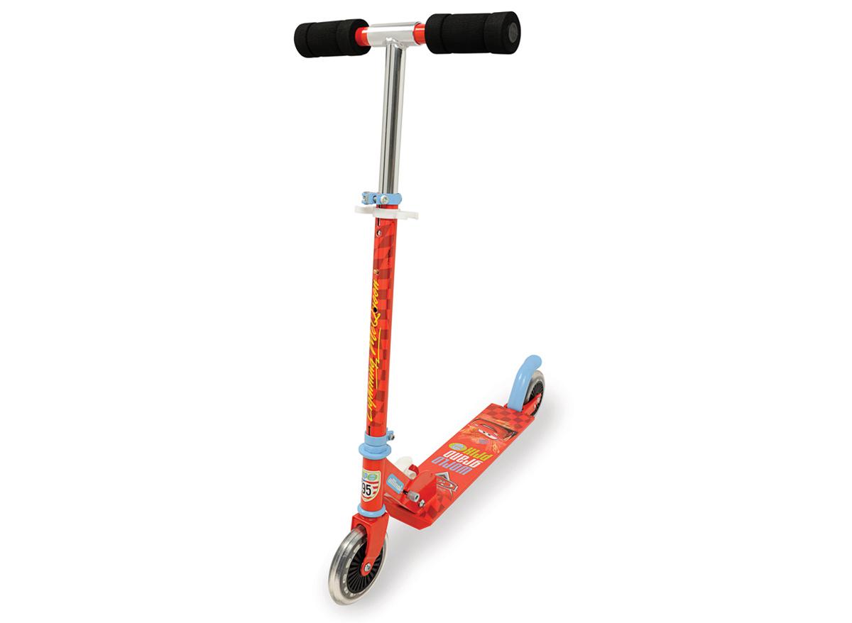 Trottinette enfant 2 roues pliable CARS Smoby